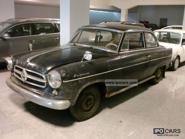 Borgward  Isabella year 1960 \ 1960 Vintage, Classic and Old Cars photo
