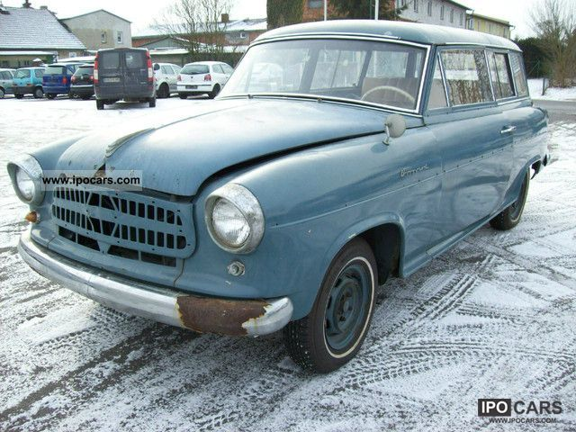Borgward  Isabella Combi Combi 1956 Vintage, Classic and Old Cars photo