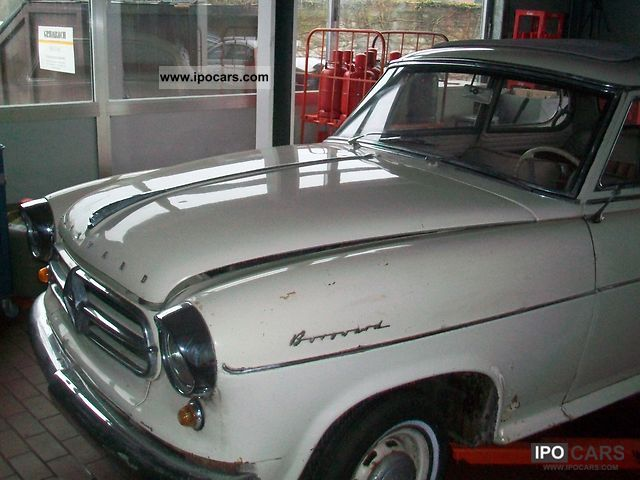 Borgward  Isabella with sliding roof 1960 Vintage, Classic and Old Cars photo