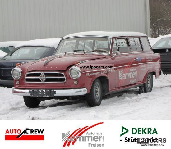 Borgward  TS Isabella Combi 1959 Vintage, Classic and Old Cars photo