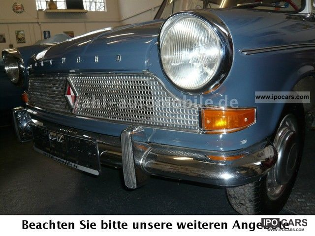 1960 Borgward  Lloyd Arabella Pappbrief, 1.Hd!, 34 tkm! Sports car/Coupe Used vehicle photo