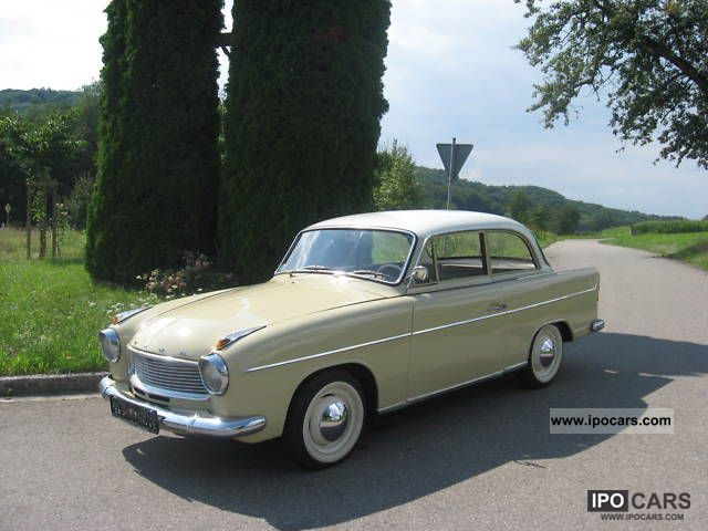 Borgward  Goliath Hansa 1962 Vintage, Classic and Old Cars photo