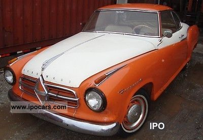 1958 Borgward  Isabella Coupe Sports car/Coupe Classic Vehicle photo