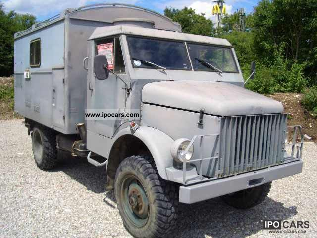 Borgward  B 522 / AD * 4x4 * DIESEL 1961 Vintage, Classic and Old Cars photo