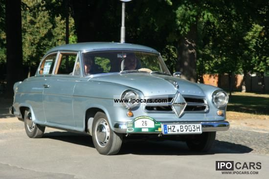 Borgward  Isabella Saloon 1957 Vintage, Classic and Old Cars photo
