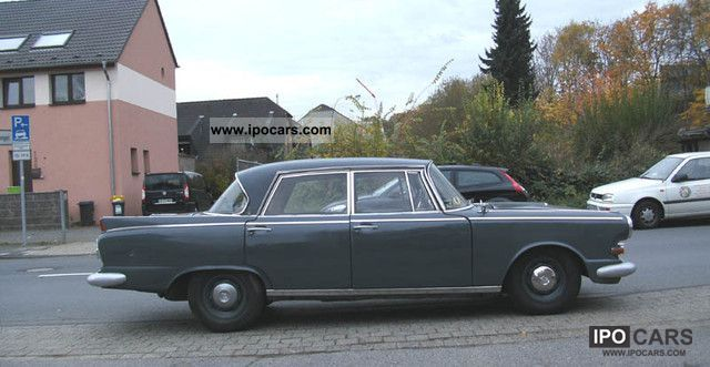 Borgward  P100 (restoration project) 1961 Vintage, Classic and Old Cars photo