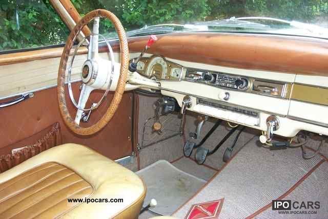 1957 Borgward  Isabella coupe Sports car/Coupe Used vehicle photo