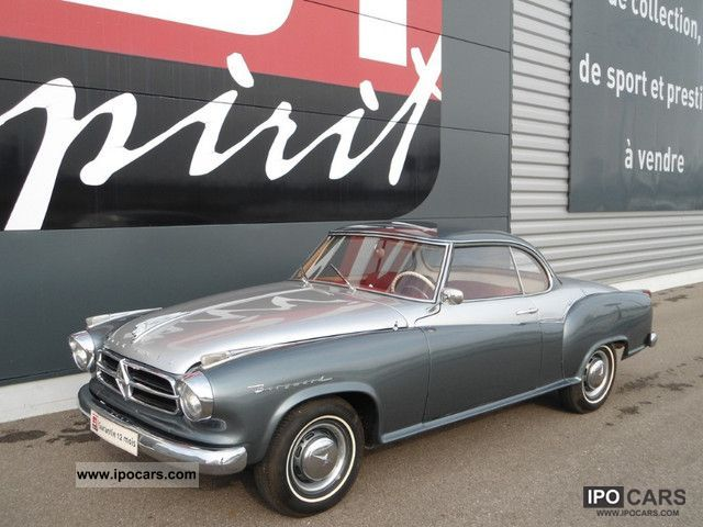 Borgward  Isabella coupe 1959 Vintage, Classic and Old Cars photo