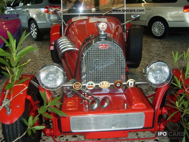 Bugatti  Replica Convertible with new TÜV 1970 Vintage, Classic and Old Cars photo