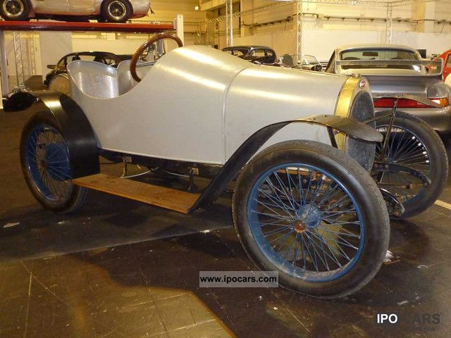 Bugatti  Type 13 torpedo 8 Valves 1913 Vintage, Classic and Old Cars photo