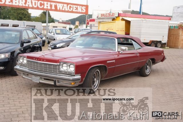 1975 Buick  LeSabre Custom Convertible Cabrio / roadster Classic Vehicle photo
