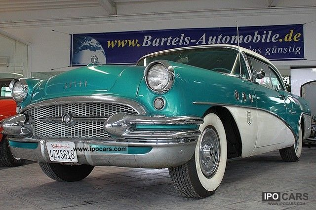 Buick  Special V8 Coupe with TÜV approval and H! 1955 Vintage, Classic and Old Cars photo