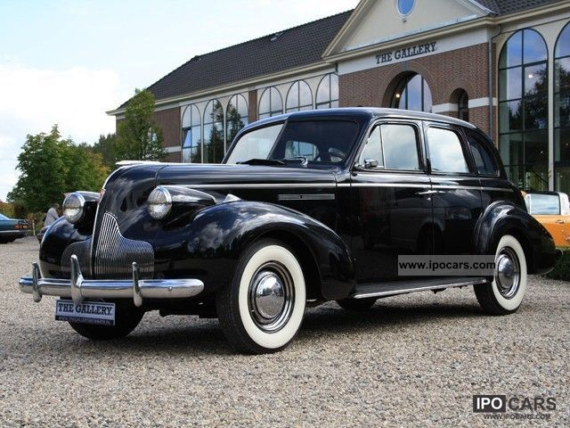 Buick  Eight Special Type 41 1939 Vintage, Classic and Old Cars photo
