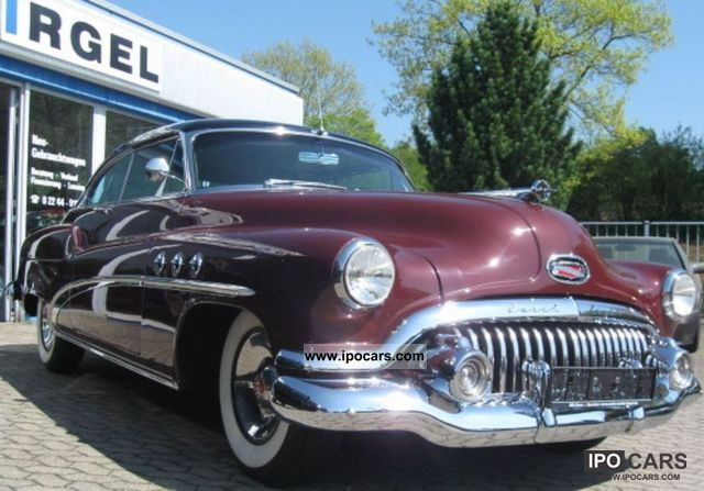 Buick  Eight Super Dynaflow coupe, excellent condition! 1952 Vintage, Classic and Old Cars photo