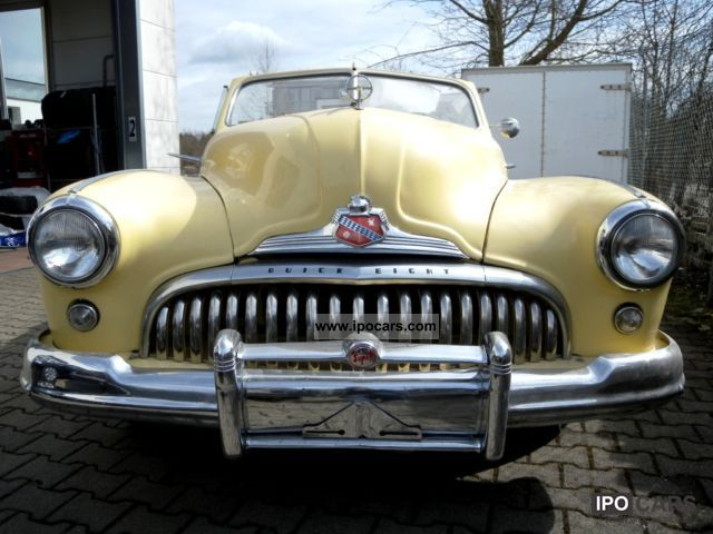 Buick  Super Eight Convertible '48 1948 Vintage, Classic and Old Cars photo