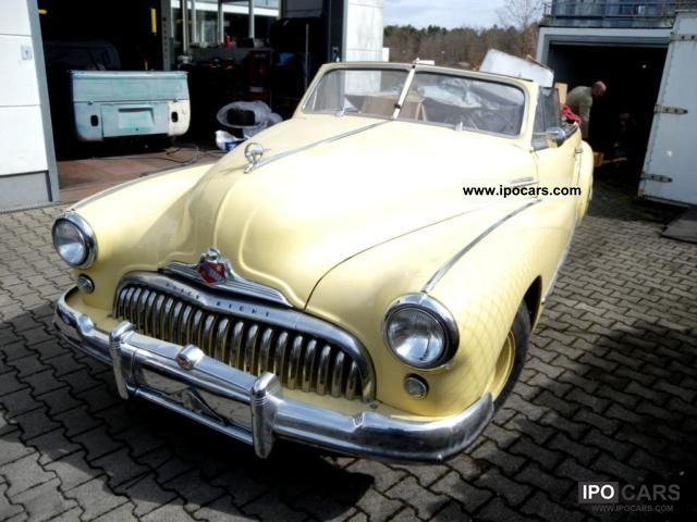 1948 Buick Super Eight Convertible 48 Car Photo And Specs