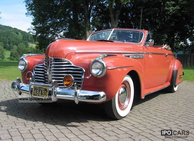 1941 Buick  Series 50 Super Eight Cabrio / roadster Classic Vehicle photo