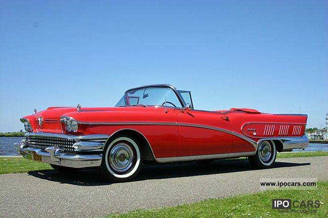 Buick  Limited Convertible 1958 Vintage, Classic and Old Cars photo