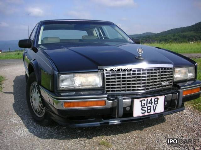 1990 Cadillac Eldorado 4 5 V8 Coupe Car Photo And Specs