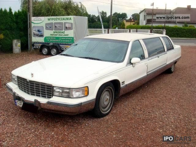1994 cadillac fleetwood limousine used vehicle photo. Cars Review. Best American Auto & Cars Review