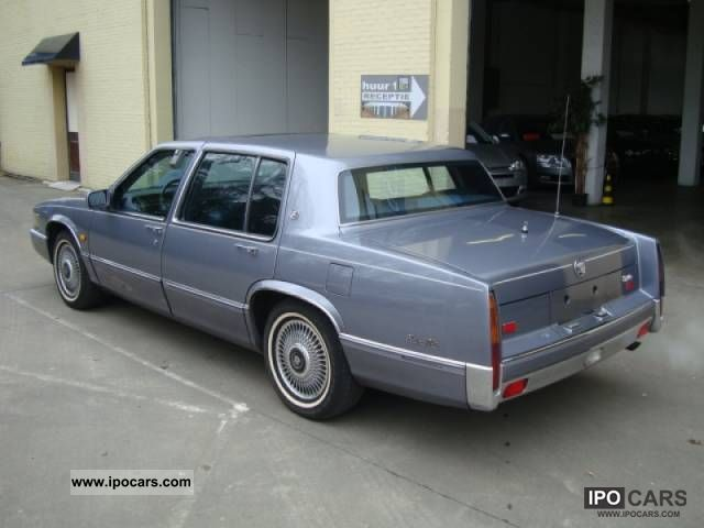 1990 cadillac sedan deville 5 4 aut car photo and specs. Cars Review. Best American Auto & Cars Review