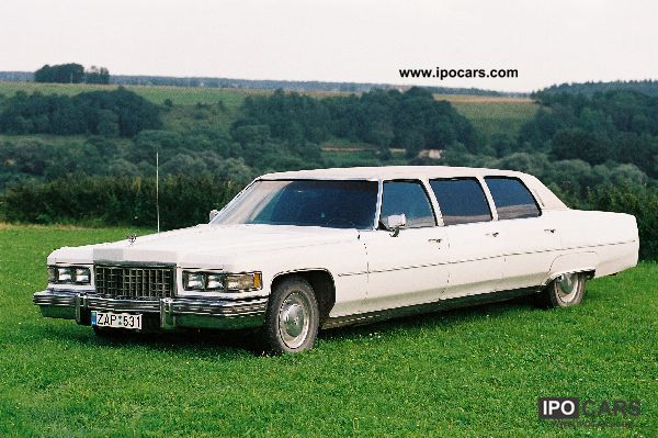 1976 Cadillac Fleetwood Car Photo And Specs