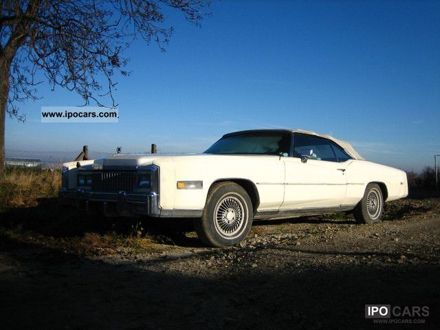 Cadillac  Eldorado Convertible 8.2 V8 classic car! 1975 Vintage, Classic and Old Cars photo