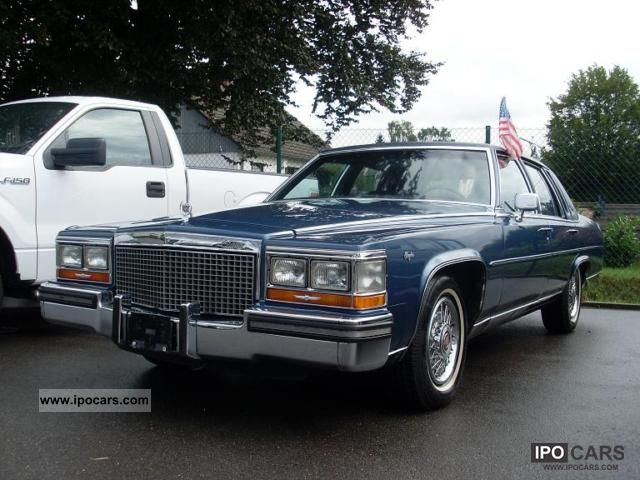 1988 Cadillac FLEETWOOD BROUGHAM LONG VERSION DREAM CONDITION ...