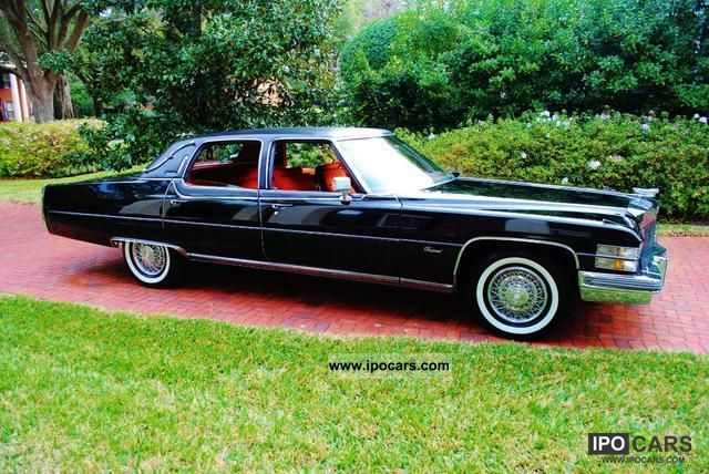 Cadillac  Fleetwood 1974 Vintage, Classic and Old Cars photo
