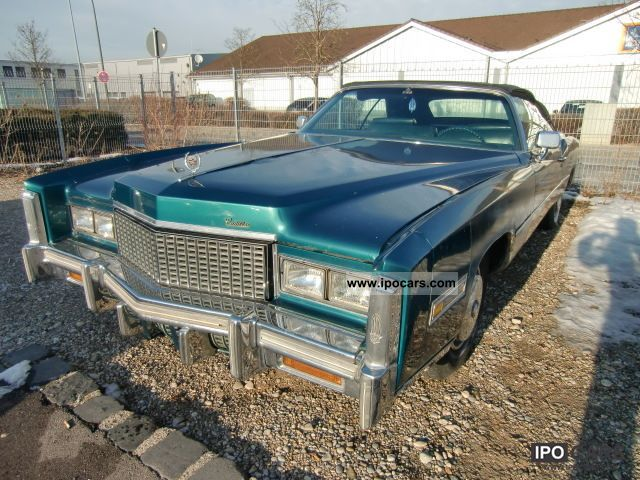 Cadillac  Eldorado 1976 Vintage, Classic and Old Cars photo
