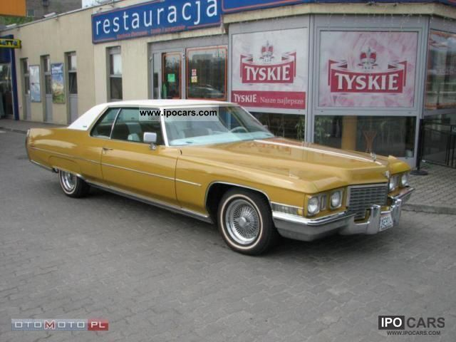 Cadillac  Deville sprowadzony ideal z California 1972 Vintage, Classic and Old Cars photo
