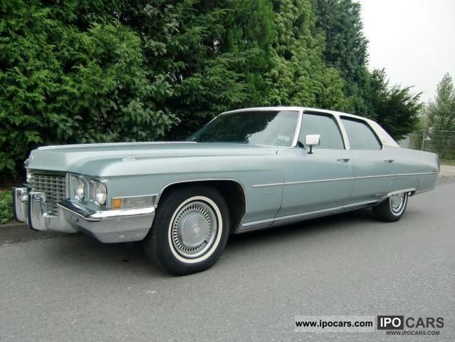 1972 Cadillac  Fleetwood Brougham Limousine Classic Vehicle photo