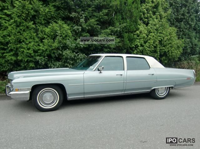 1972 Cadillac Fleetwood Brougham Car Photo And Specs