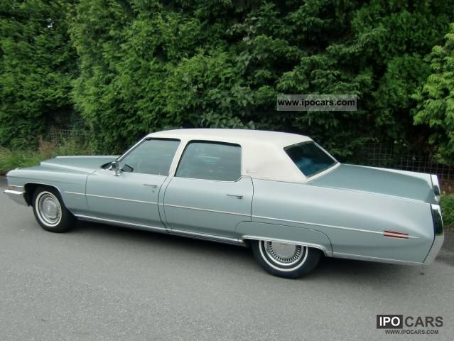 1972 Cadillac Fleetwood Brougham - Car Photo and Specs