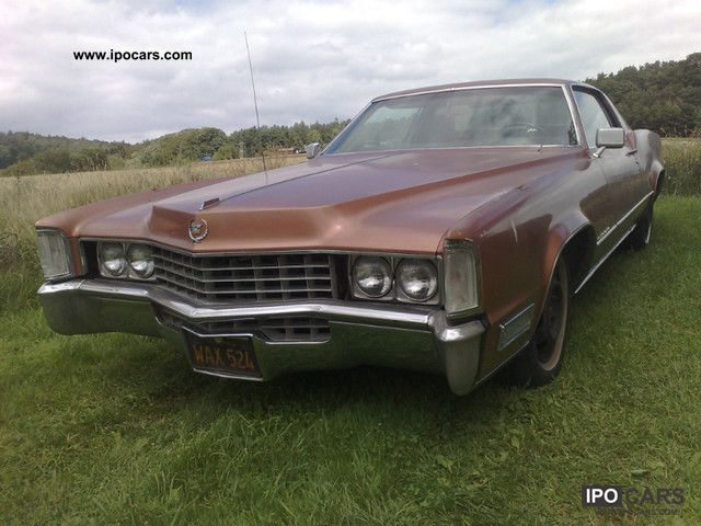 Cadillac  Coupe 1968 472cci 1968 Vintage, Classic and Old Cars photo