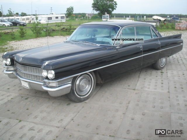 Cadillac  Deville 7.0 V8 340 KM very good condition! 1963 Vintage, Classic and Old Cars photo