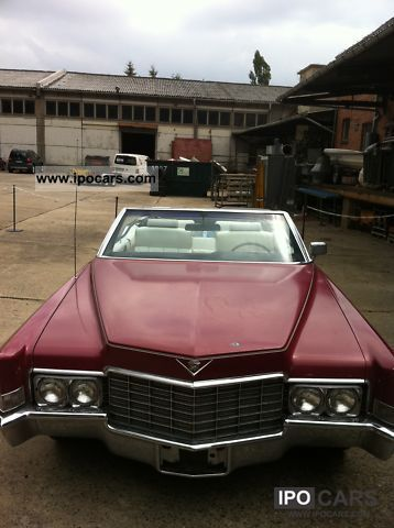 1969 Cadillac  69 Deville Convertible with 468 cui big block V8 Cabrio / roadster Used vehicle photo