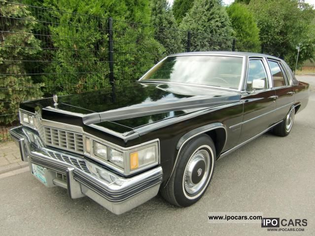 1977 Cadillac  Fleetwood extreme luxury full equipment Limousine Classic Vehicle photo