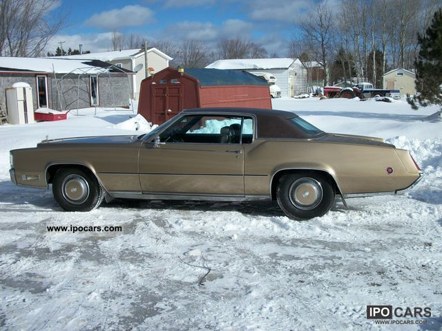 Cadillac  Eldorado 1970 Vintage, Classic and Old Cars photo