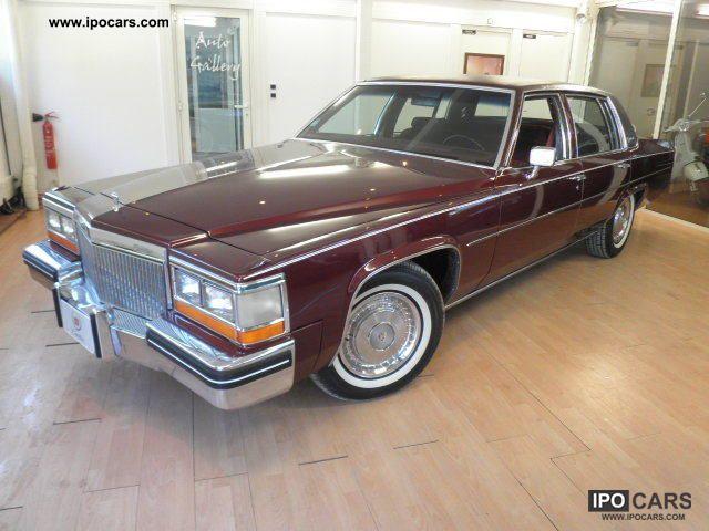1980 Cadillac Sedan Deville Car Photo And Specs