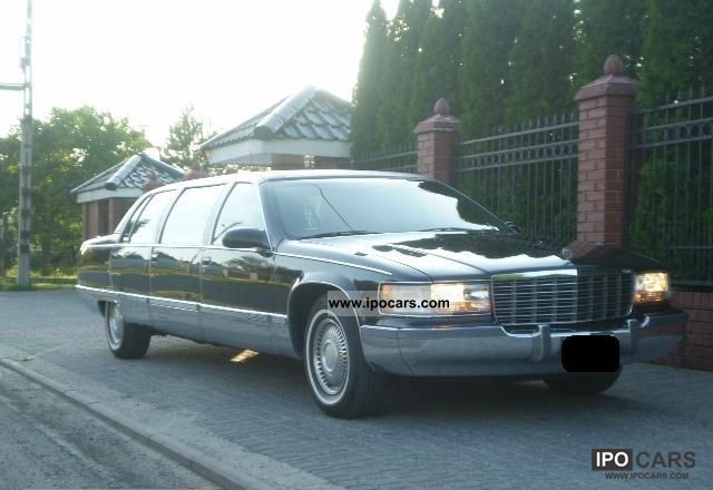 1996 Cadillac  Fleetwood LIMUZYNA 9 OSOBOWA / km Limousine Used vehicle photo