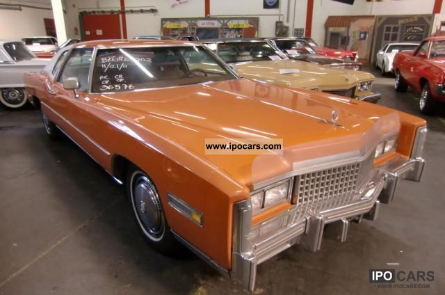 Cadillac  Eldorado 2.8 liter big block!! 1975 Vintage, Classic and Old Cars photo