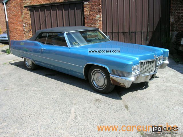 Cadillac  De Ville Convertible 1970 Vintage, Classic and Old Cars photo