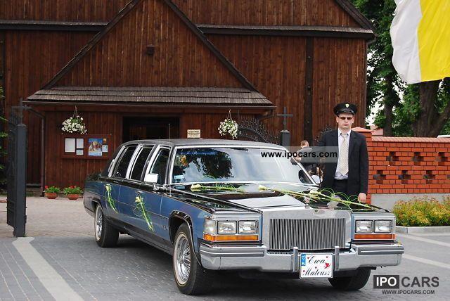 1981 Cadillac  Fleetwood Limousine Used vehicle photo