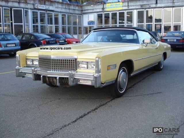 Cadillac  Eldorado 1975 Vintage, Classic and Old Cars photo