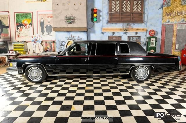 Cadillac  Fleetwood Series 75 Limousine Factory 1978 Vintage, Classic and Old Cars photo