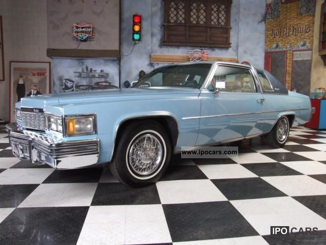 Cadillac  Deville 2.8 liter big block!! 1977 Vintage, Classic and Old Cars photo