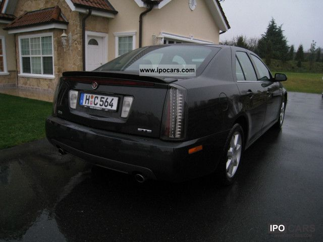 2005 cadillac sts 3 6 v6 sport luxury model europe car photo and specs. Black Bedroom Furniture Sets. Home Design Ideas