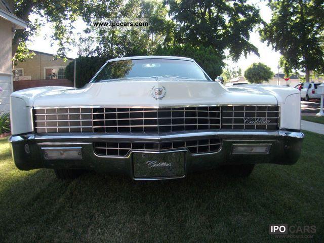 1967 Cadillac  Eldorado Sports car/Coupe Classic Vehicle photo