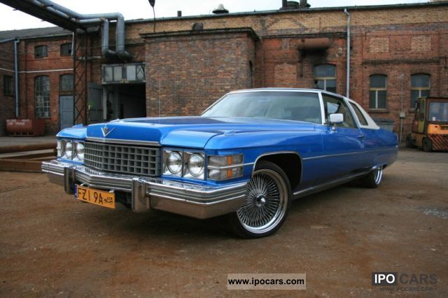 Cadillac  Coupe Deville Great Condition 1974 - Nomad Cars 1974 Vintage, Classic and Old Cars photo